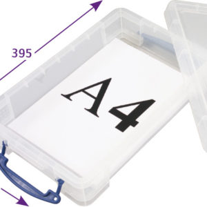 4 Litre Really Useful Storage Box - Pack of 4