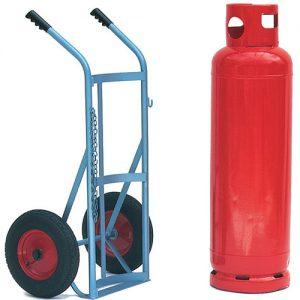 Large Gas Cylinder Trolley