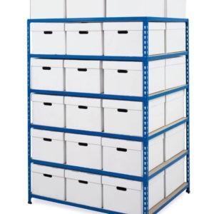archive storage bay medium duty double sided