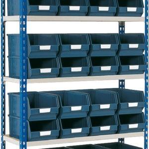 Shelving Bay for Storage Bins