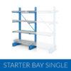 Cantilever Racking Starter Bay Single Sided