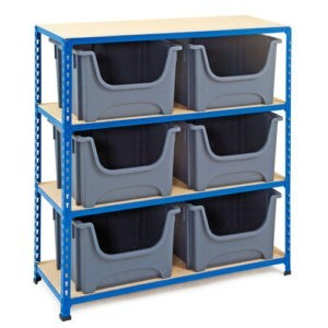 Shelving Unit for Containers