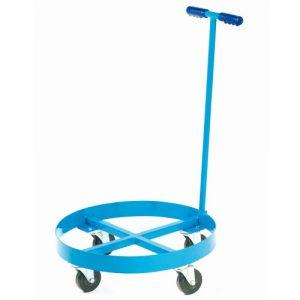 Blue Drum Dolly Trolley