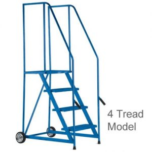 Easy Lift and Push Warehouse Safety Steps