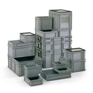 Food Grade European Solid Stacking Containers