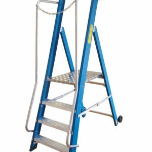 Fibreglass Wide Step Ladder