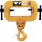 Forklift Hook attachment with Adjustable Single Tine