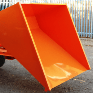Four Way Entry Tipping Skip