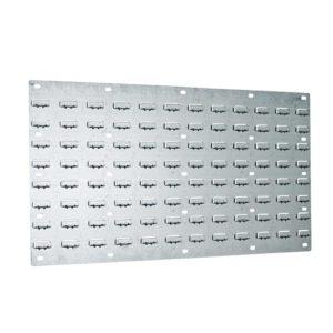 galvanised louvre panel 1