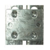 Galvanised Tie Plates for Heavy Duty Shelving