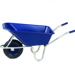 Garden Wheelbarrow - Plastic Body - 140 litres