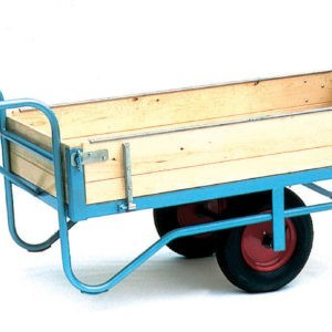 Groundsman Wheelbarrow with Hinged Sides