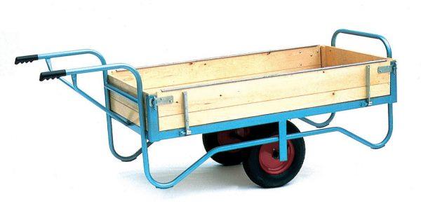 Groundsman Wheelbarrow with Hinged Sides