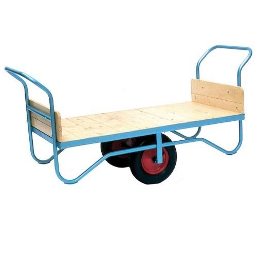 Groundsman Wheelbarrow with Push Bars