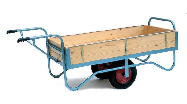 Groundsman Wheelbarrow with Slide in Sides