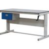 Heavy Duty Height Adjustable Workbench with a drawer