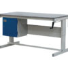 Heavy Duty Height Adjustable Workbenches with cupboard