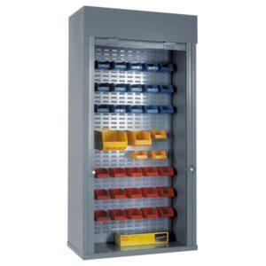 Heavy Duty Roller Shutter Cabinet Full Louvred Panel