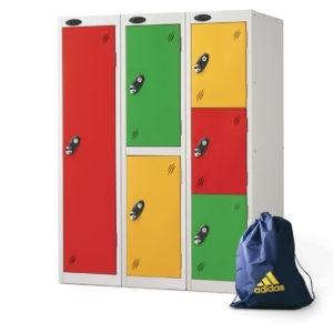 Lockers for School - Low Level