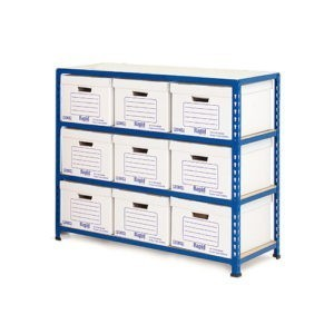 Medium Duty Low Level Archive Storage Bay