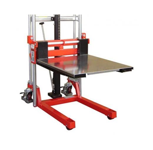 Mini hand forklift removable platform