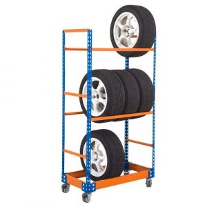 Mobile Tyre Storage