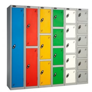 Office Lockers in Various Colours