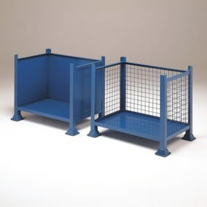 Open Fronted Steel Pallets