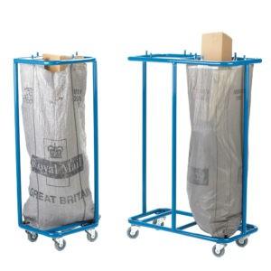 Post Bag Trolley Holder