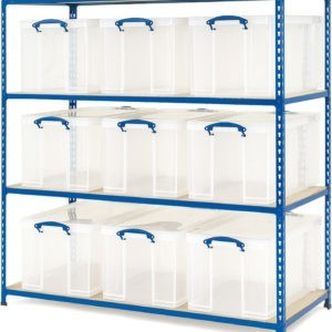 really useful box bay with 84 litre boxes