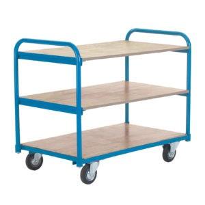 Shelf Trolley With 3 Shelves