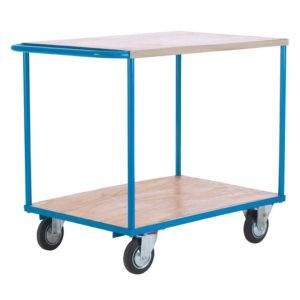 Shelf Trolley with Push Handle