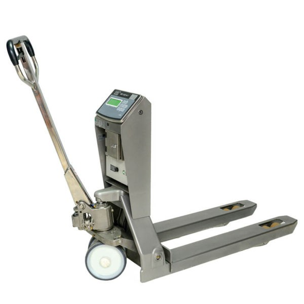 Stainless Steel Weighing Pallet Truck