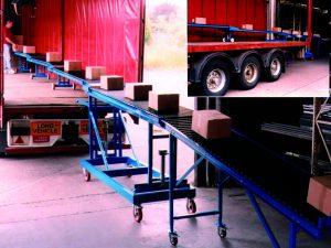 Trailer Unloading Conveyor