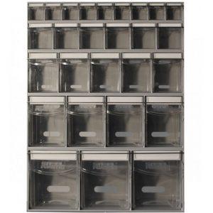 tilt bin storage boxes