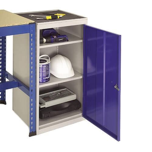 Tool Cupboard with Inset Rubber Mat