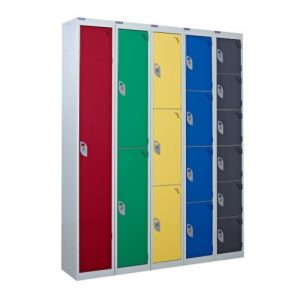 Standard Lockers in Different Colours