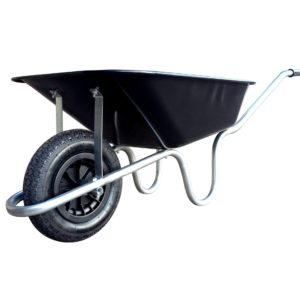 Wheelbarrow with Steel Body