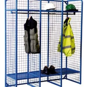 Wire Mesh Storage Compartment