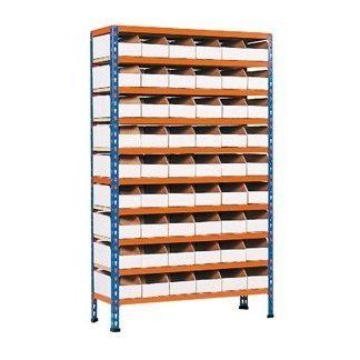 Cardboard Bin Storage Bays