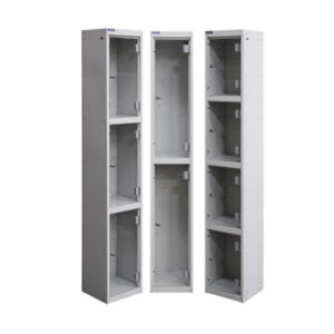 Lockers with See Through Front