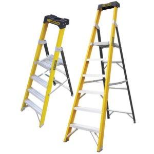 Fibreglass Ladder Platform Folding Steps