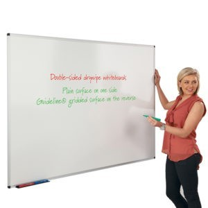 Non-Magnetic Dual Faced Whiteboard