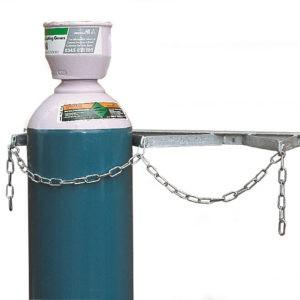 Wall Mounted Cylinder Storage Rack