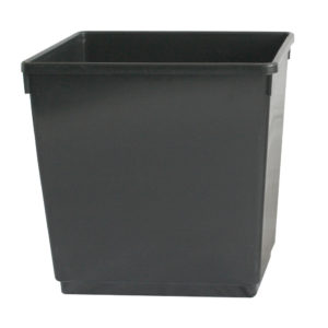 Plastic Recycling Bin with Labels