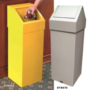 Push or Swing Top Bin