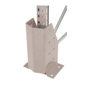galvanised pallet racking post protector