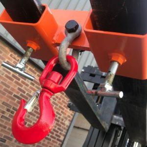 Adjustable Forklift Hook