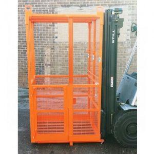 crane mounted safety cage