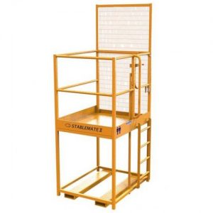 raised safety cage